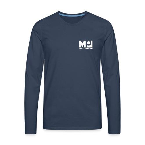 ManigProductions White Transparent png - Men's Premium Longsleeve Shirt