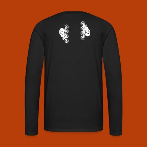 Inline speed skate - Männer Premium Langarmshirt