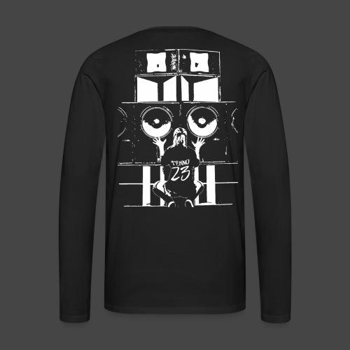 Système audio Tekno 23 - T-shirt manches longues Premium Homme