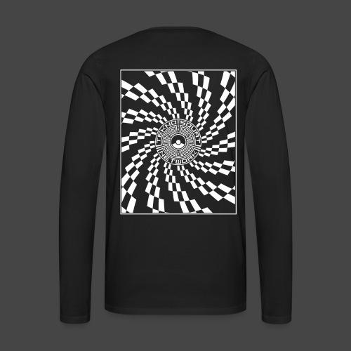 TEKNOSQUAT RÉSEAU SPIRAL - T-shirt manches longues Premium Homme