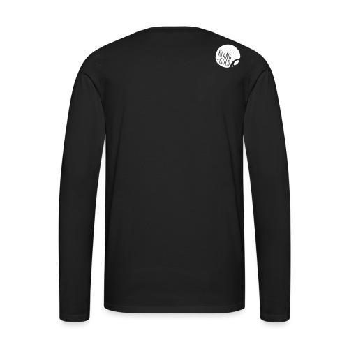 klanggold logo ohne Schri - Männer Premium Langarmshirt