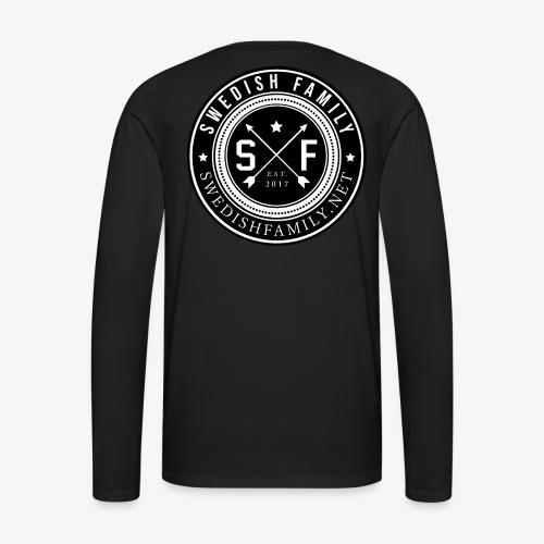Swedish Family - Långärmad premium-T-shirt herr