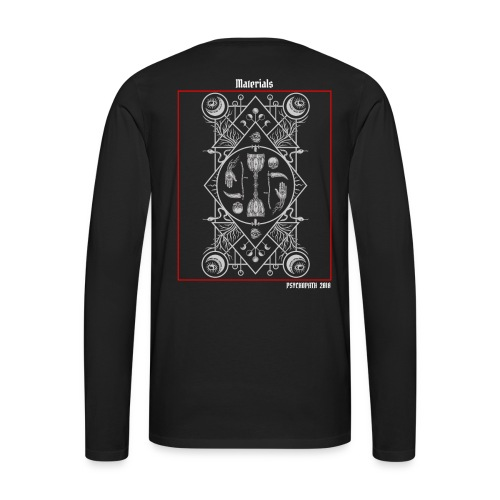 Psychopath Collection - Camiseta de manga larga premium hombre