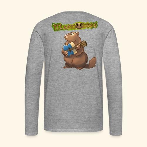 Tshirt Guitare - T-shirt manches longues Premium Homme