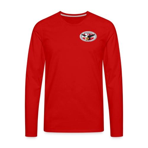 SR logo png - Herre premium T-shirt med lange ærmer