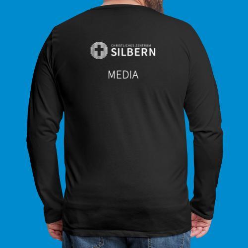 Silbern Media - Männer Premium Langarmshirt