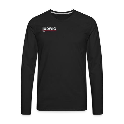nur ludwig - Männer Premium Langarmshirt