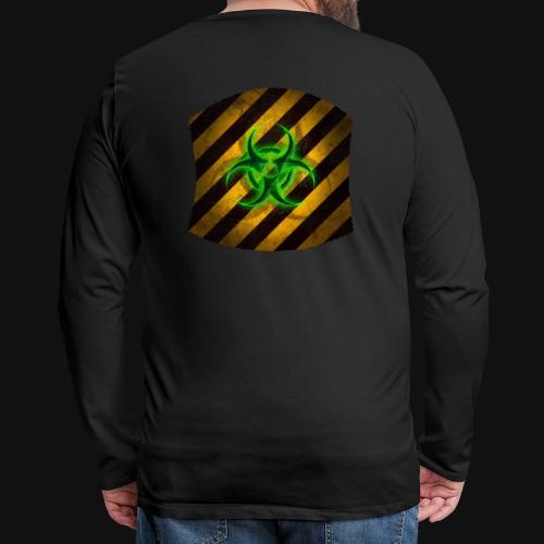 Biohazard v3 - Männer Premium Langarmshirt