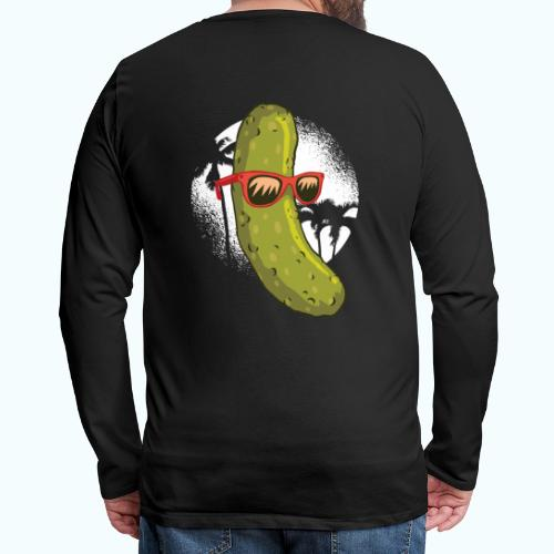 Surfer cucumber - Men's Premium Longsleeve Shirt