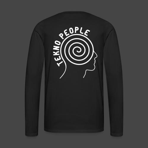 personnes tekno - T-shirt manches longues Premium Homme