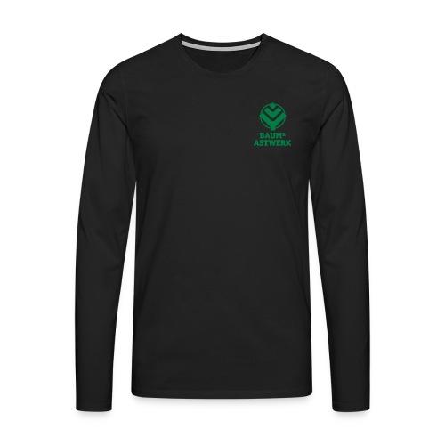 BaumAstwerkName multicolo - Männer Premium Langarmshirt