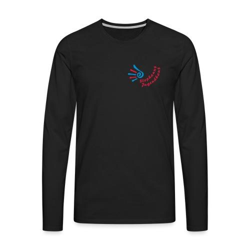 stephanus jugendhaus logo inkscape3 - Männer Premium Langarmshirt