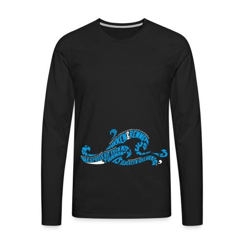 EZS T shirt 2013 Front - Mannen Premium shirt met lange mouwen