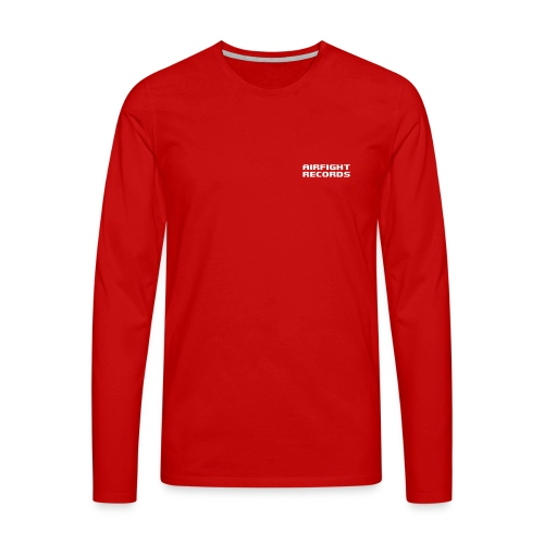 airfightlogo text - Men's Premium Longsleeve Shirt