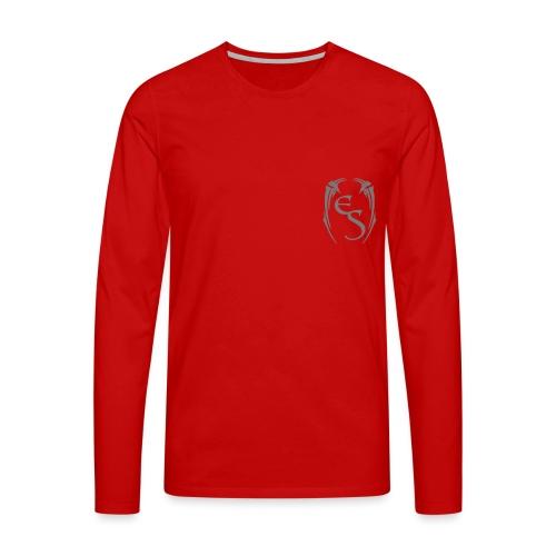 Crest Dark - Men's Premium Longsleeve Shirt