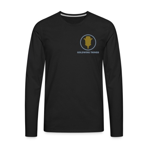 Goldwing Things Logo - Männer Premium Langarmshirt