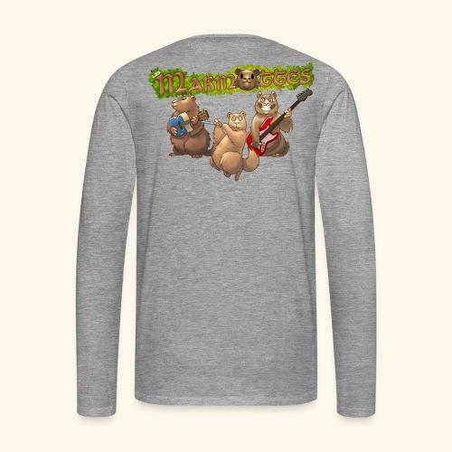 Tshirt groupe dos - T-shirt manches longues Premium Homme