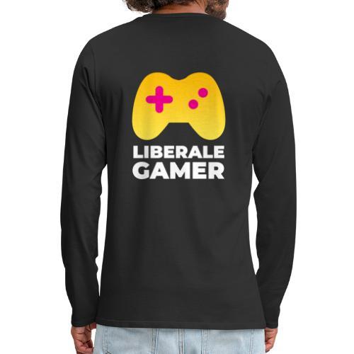 Liberale Gamer Logo - Männer Premium Langarmshirt