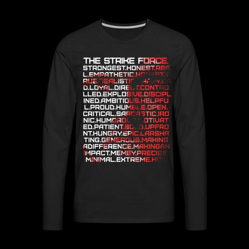 List Design - Men's Premium Longsleeve Shirt