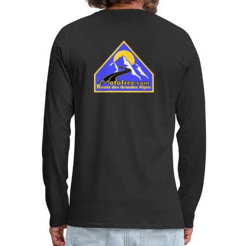 Logo motofree bleu - T-shirt manches longues Premium Homme