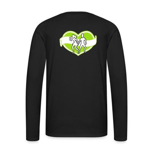 Spreadshirt - Långärmad premium-T-shirt herr