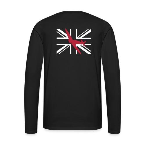 ukflagsmlWhite - Men's Premium Longsleeve Shirt