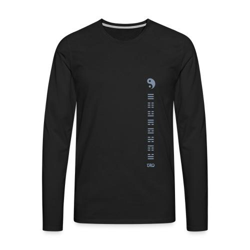 Hexagrammes et Yin yang - T-shirt manches longues Premium Homme