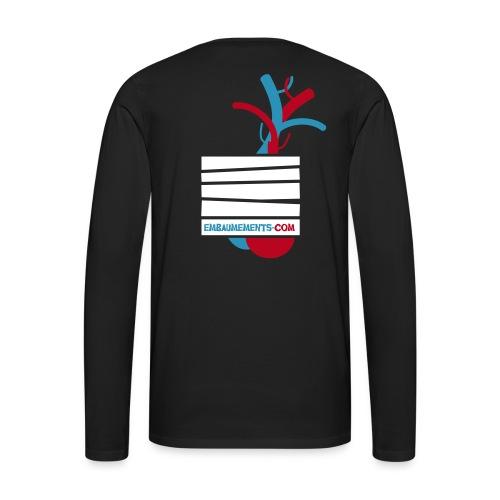 Embaumements.com - T-shirt manches longues Premium Homme