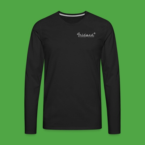 loggan2 copy - Långärmad premium-T-shirt herr