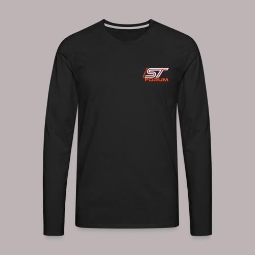 ruecken - Männer Premium Langarmshirt