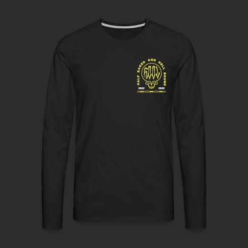 HOOL SKULL V2 - Men's Premium Longsleeve Shirt