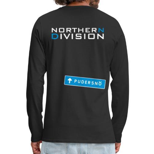 pudersn_2vari - Miesten premium pitkähihainen t-paita