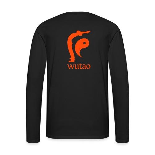 Wutao - T-shirt manches longues Premium Homme