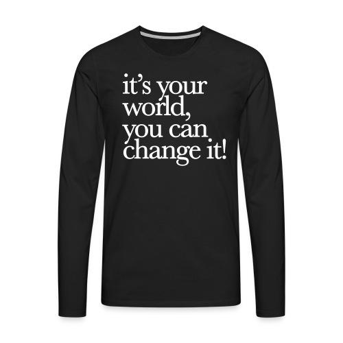 (yourworld) - Männer Premium Langarmshirt