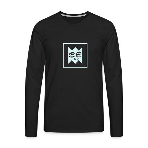 square facelogo - Men's Premium Longsleeve Shirt