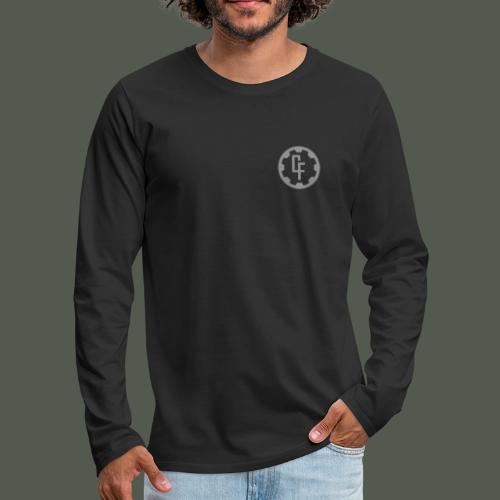 Contact Front - Men's Premium Longsleeve Shirt