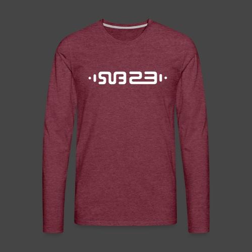 SUBCULTURE 23 - Maglietta Premium a manica lunga da uomo