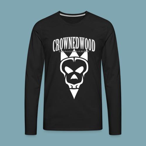 SKULL&CROWNED_Perfect_ver - Männer Premium Langarmshirt