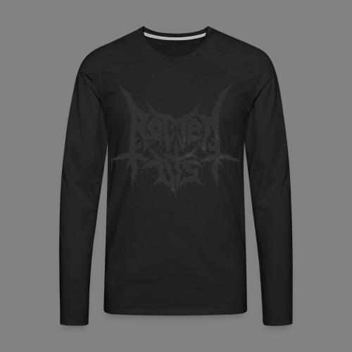 Rotten Tits dripper blck - Miesten premium pitkähihainen t-paita