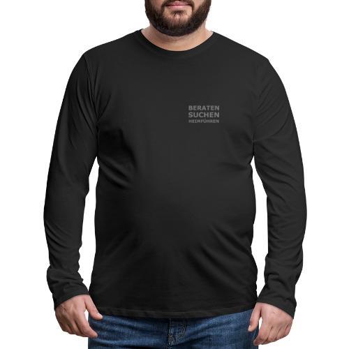 K-9 Tiersuche Nord e.V. - Männer Premium Langarmshirt