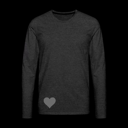 hearth design tee - Herre premium T-shirt med lange ærmer