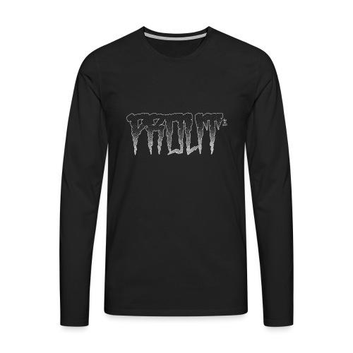 Horror PROUT - white - Men's Premium Longsleeve Shirt