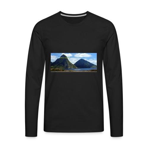 believe in yourself - Men's Premium Longsleeve Shirt