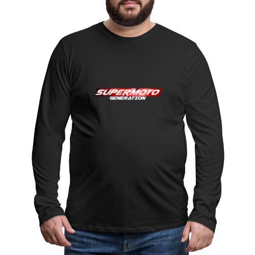 Supermoto Generation Hoodie - Männer Premium Langarmshirt