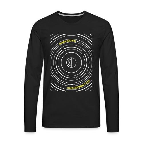 Onion Routing - Men's Premium Longsleeve Shirt