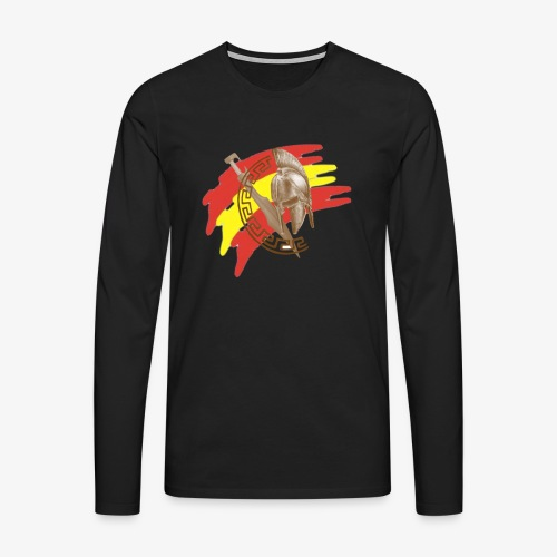 Spanisher - Camiseta de manga larga premium hombre