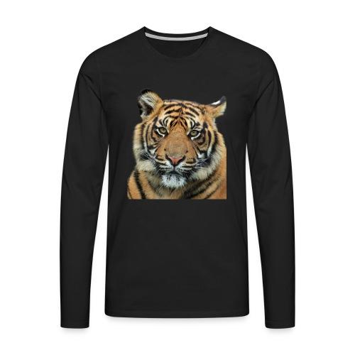 tiger 714380 - Maglietta Premium a manica lunga da uomo