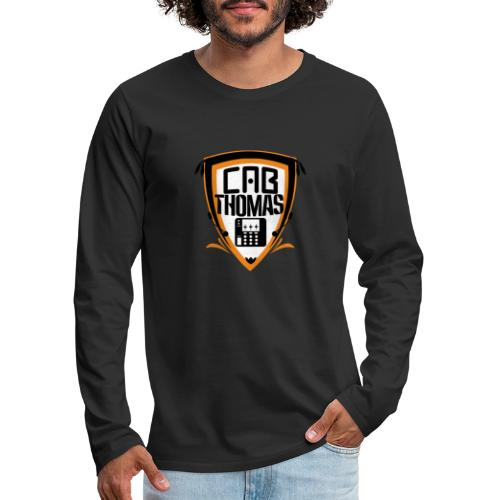 cab.thomas - alternativ Logo - Männer Premium Langarmshirt