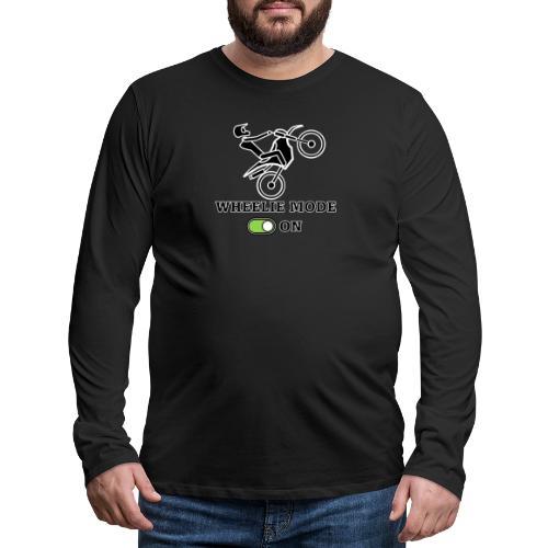 wheelie 2 - Maglietta Premium a manica lunga da uomo