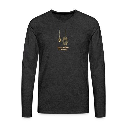Ramadan Kareem - T-shirt manches longues Premium Homme